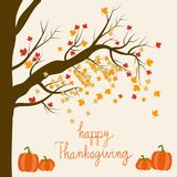 Happy Thanks giving with pumpkins hand lettering fonts vector. i. Llustration EPS10 Stock Image