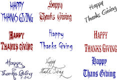 Happy thanks giving Stock Photos