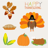 Happy Thanks giving vector royalty free illustration