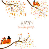 Happy Thanks giving vector. Illustration EPS10 Royalty Free Stock Image