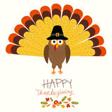 Happy Thanks giving vector. Illustration EPS10 Stock Photography