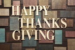 Happy thanks giving Royalty Free Stock Photography