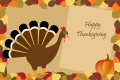 Happy Thanksgiving Royalty Free Stock Photography