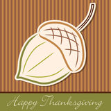 Happy Thanksgiving! Royalty Free Stock Photo
