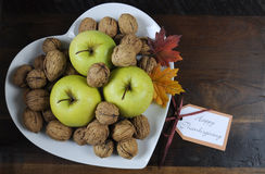 Happy Thanksgiving Autumn Fall harvest Royalty Free Stock Images