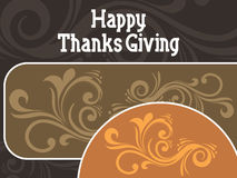 Happy thanksgiving background Royalty Free Stock Photo