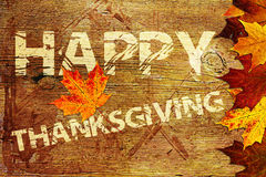 Happy Thanksgiving Background Royalty Free Stock Photos