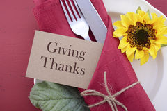 Happy Thanksgiving background with decorated borders. Royalty Free Stock Images