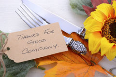 Happy Thanksgiving background with decorated borders. Royalty Free Stock Photo
