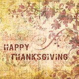 Happy Thanksgiving Background Stock Photo