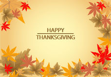 Happy Thanksgiving background Royalty Free Stock Images
