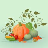 Happy Thanksgiving background illustration Royalty Free Stock Image