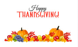 Happy Thanksgiving Background. Stock Image