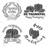 Happy Thanksgiving. Royalty Free Stock Photos