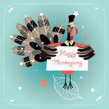 Happy Thanksgiving Stock Photography