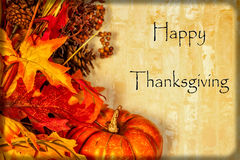 Free Happy Thanksgiving Card Royalty Free Stock Photos - 46968228