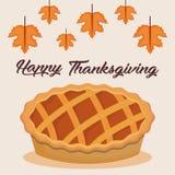 Happy thanksgiving card. Vector illustration graphic design Stock Photo