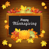 Happy thanksgiving card Royalty Free Stock Photography