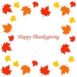 Happy thanksgiving card. Vector illustration Stock Photo