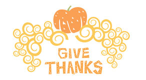 Happy Thanksgiving Day Stock Images
