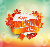 Happy thanksgiving day. Stock Photo