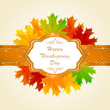 Happy Thanksgiving day Royalty Free Stock Images