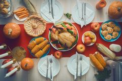 Happy Thanksgiving Day stock image