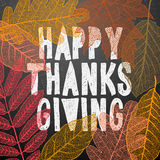 Happy thanksgiving day, autumn holiday background Royalty Free Stock Image