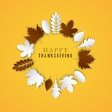 Happy Thanksgiving Day Stock Photography