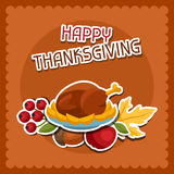 Happy Thanksgiving Day background design with Stock Photography