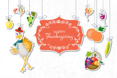 Happy Thanksgiving Day background Stock Photography
