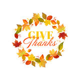 Happy Thanksgiving Day Background Stock Images