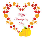 Happy thanksgiving day Background Stock Image