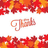Happy Thanksgiving Day background Stock Photo