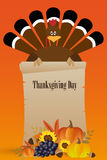 Thanksgiving Day card Royalty Free Stock Images