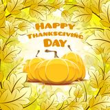 Happy Thanksgiving Day card Royalty Free Stock Image