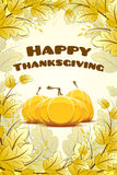 Happy Thanksgiving Day card Royalty Free Stock Images