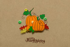 Happy Thanksgiving day. Royalty Free Stock Photos