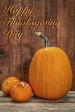 Happy Thanksgiving Day greeting card Royalty Free Stock Images