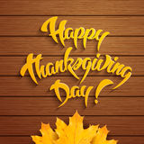 Happy Thanksgiving Day Stock Photo