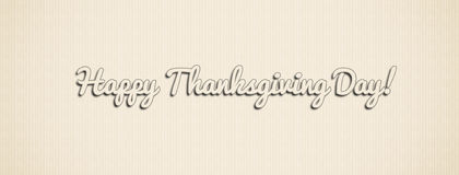 Happy Thanksgiving day illustration banner with texture Royalty Free Stock Photos
