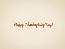 Happy Thanksgiving day illustration with texture and text space Stock Photo