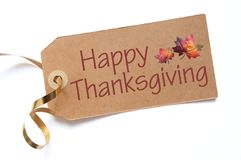 Thanksgiving day greeting stock images