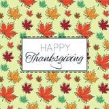 Happy Thanksgiving Day logo template. Happy Thanksgiving Day logotype, badge and icon. Happy Thanksgiving Day logo template. Thanksgiving Day card template Stock Photo