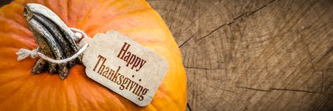 Happy Thanksgiving Day royalty free stock photography