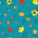 Happy Thanksgiving Day seamless pattern Royalty Free Stock Photography
