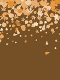 Happy thanksgiving day template background. EPS 8 Royalty Free Stock Image