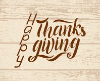 Happy Thanksgiving Day typography vector design vector illustration