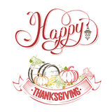Happy Thanksgiving day Royalty Free Stock Photo
