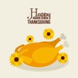 Happy thanksgiving Stock Image